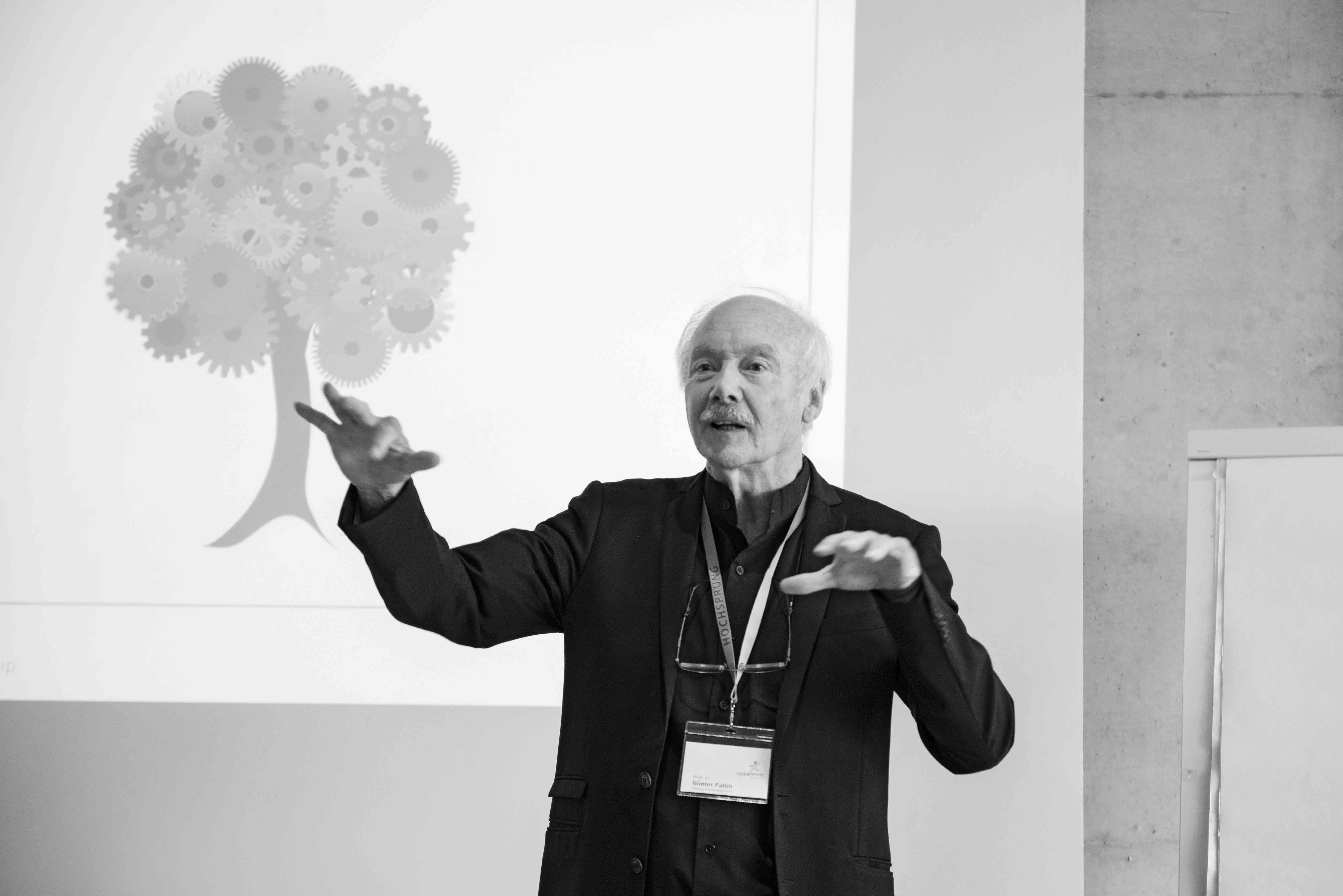 HOCHSPRUNG Konferenz Günter Faltin