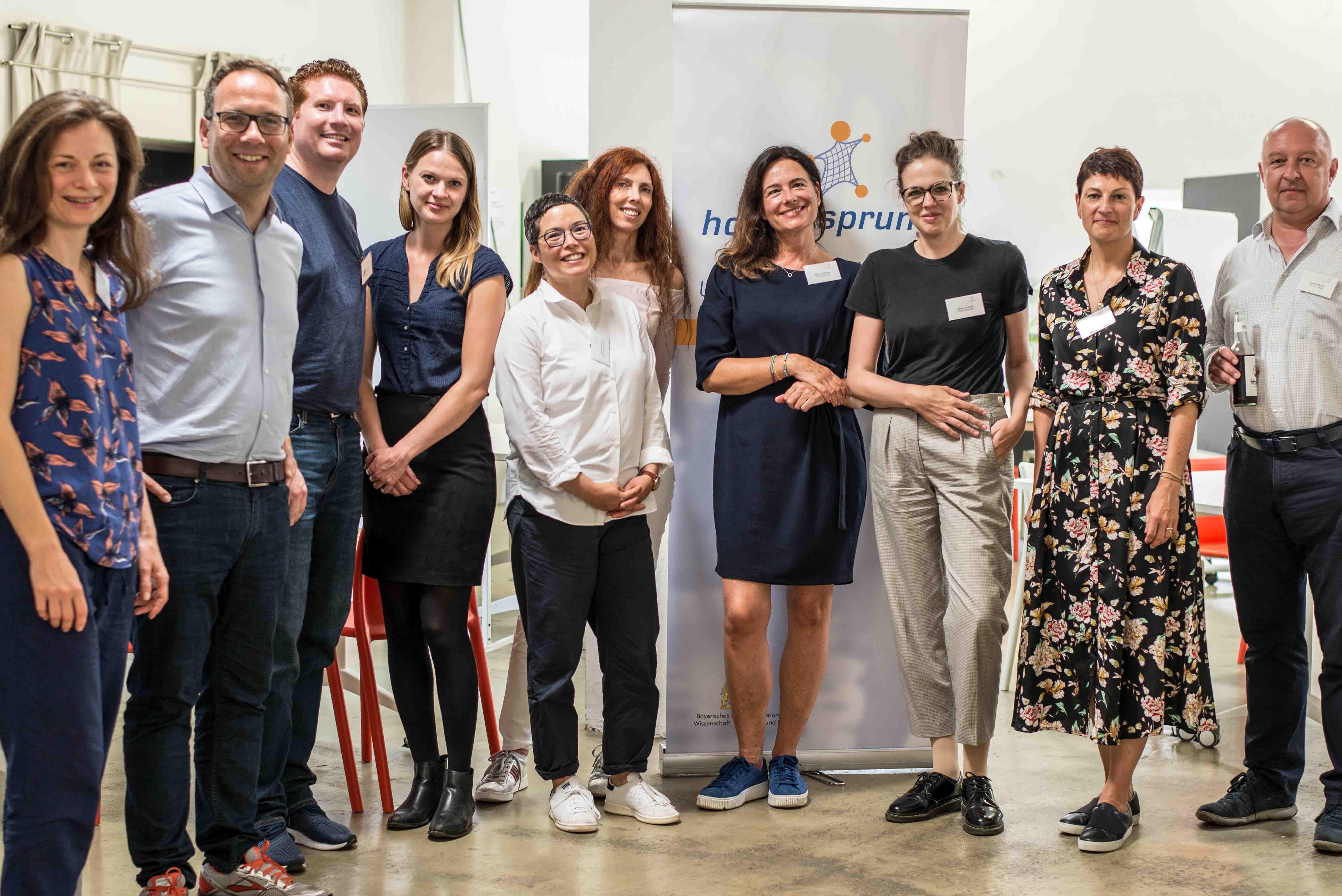 HOCHSPRUNG-Workshop Fundraising im Zollhof Nürnberg